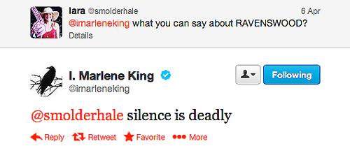 Tweet de Marlène