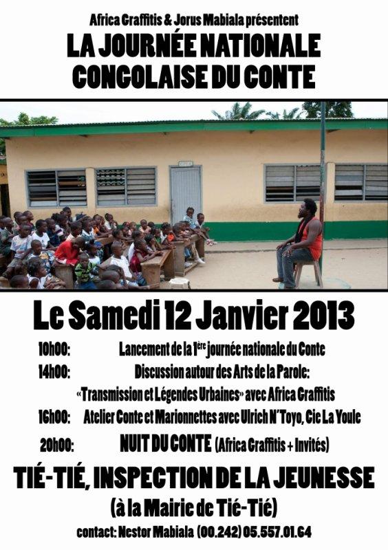 Journée National du Conte  Congolais !