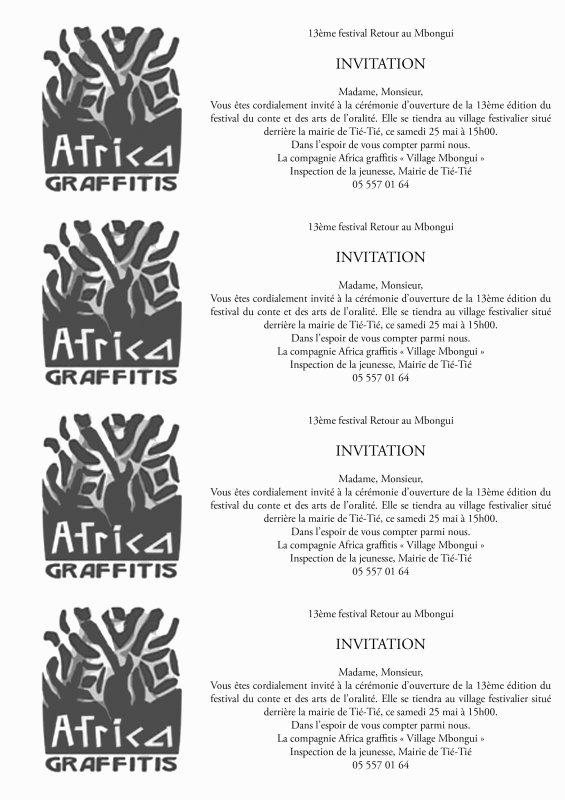 Pointe-Noire : FESTIVAL INTERNATIONAL DE L'ORALITE RETOUR AU MBONGUI 2013 du 25 mai au 5 juin | Un Congo déchaîné et indépendant