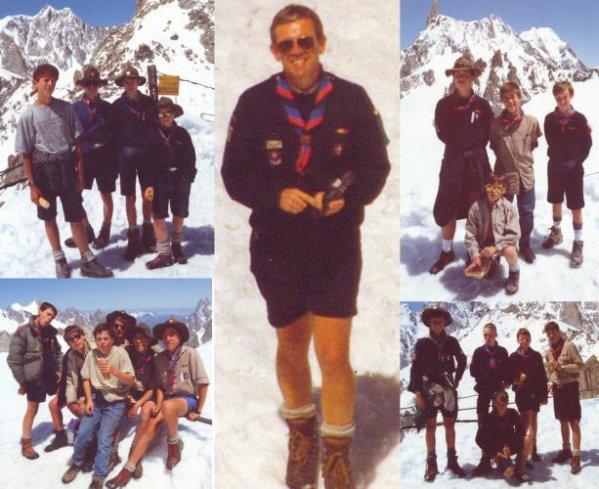 """Les pionniers de la création des """"Compagnons du Mt Blanc"""""""