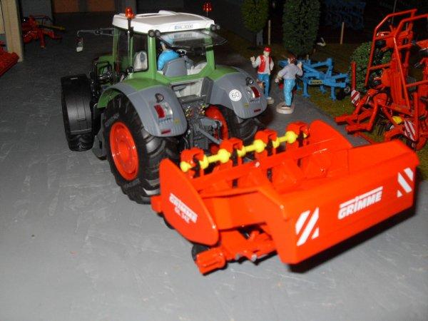 Fendt 936 & Grimme GL 34 Z