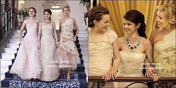 "7 MARS 2011 : Leighton était sur le tournage de ""Gossip girl"" avec sa co-stars Ed westwick .Leighton à l'air fatigué !"