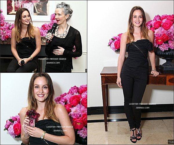 """. 28 AVRIL 2011 : Leighton à assister à la présentation de """" Lovestruck parfum"""" / Top ! Votres Avis ?  ."""