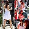 . 20 / 06 / 11 : Leighton était sur le tournage de son prochain film à Boston . Nouvelle coupe pour Lei' . TOP !  .