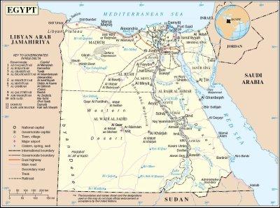 Grande Carte d Egypte