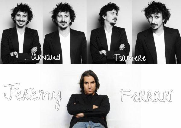 Jérémy Ferrari et Arnaud Tsamere ♥