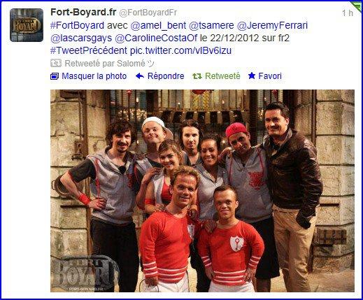 Nos chouchous débarquent à Fort Boyard !