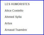 Le retour d'Arnaud Tsamere