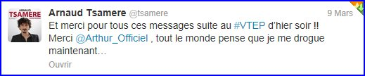 Vendredi tout est permis avec Arnaud Tsamere