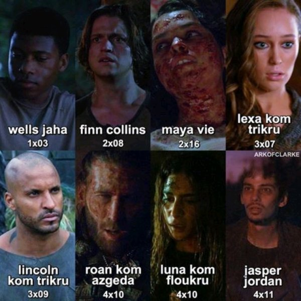 The 100 dead