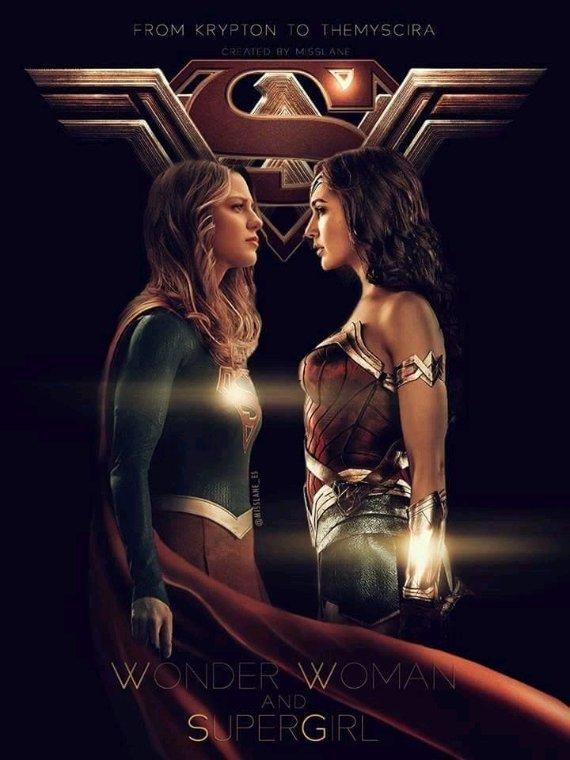 Super girl vs Wonder