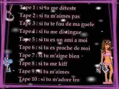 tape......