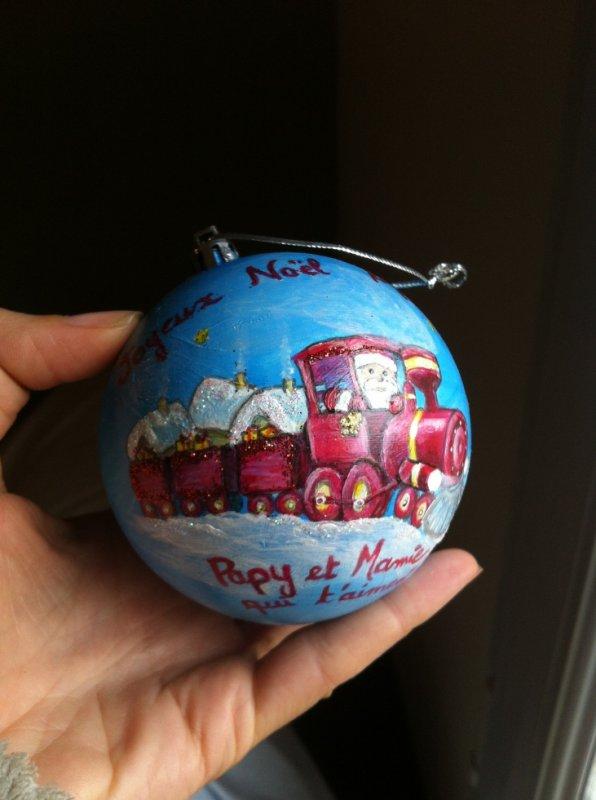 boule de Noël 2016