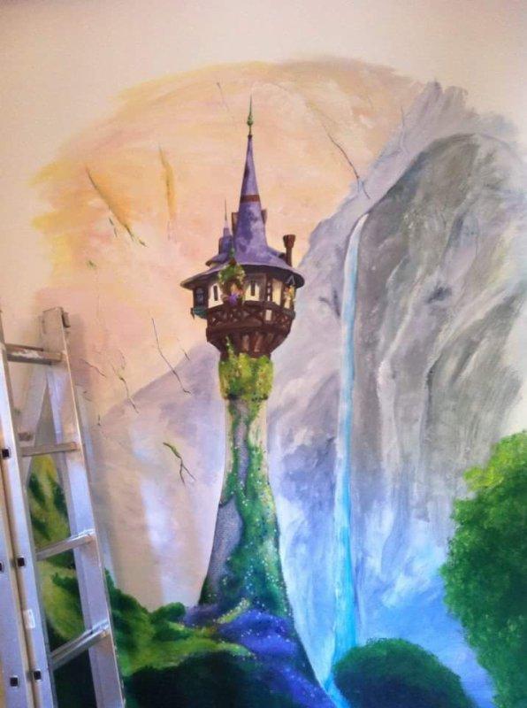 Fresque (Tour de Raiponce)