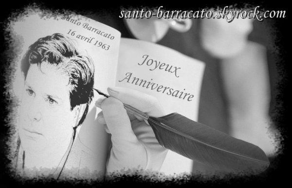 Joyeux Anniversaire Santo Barracato