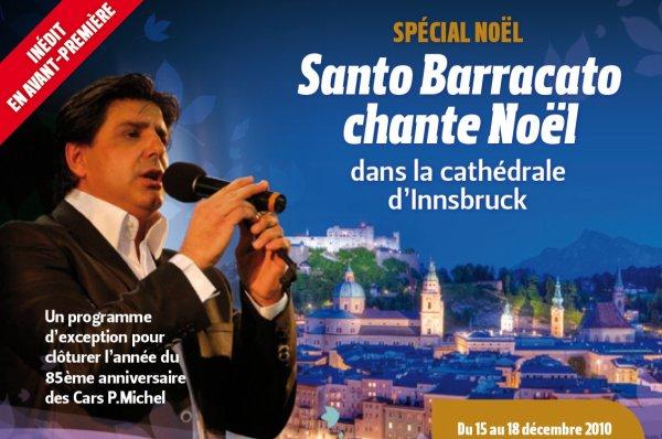 Concert de Noël de Santo Barracato