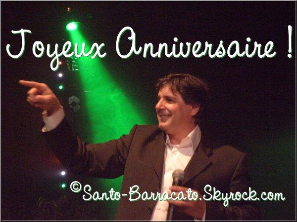 (l) Joyeux anniversaire Santo (l)