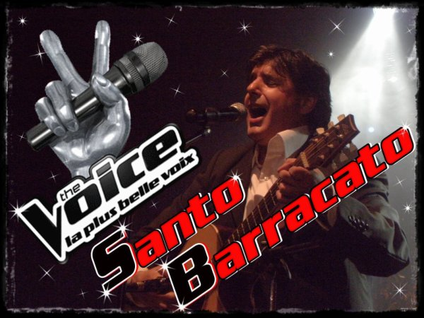 Santo Barracato - The Voice 3 - TF1