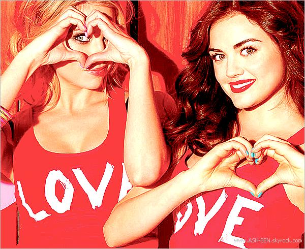 BONGO (2éme PARTIE). . Voici trois nouvelles photos de la campagne pour Bongo Jeans où Ashley & Lucy sont les égéries 2012. Elles sont si belles et si souriante. Enjoy! - Et vous, qu'en pensez-vous ? :).