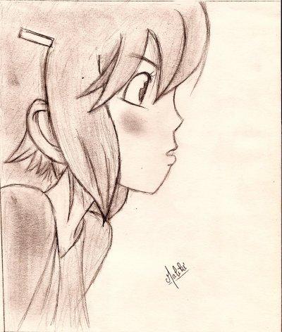 I draw