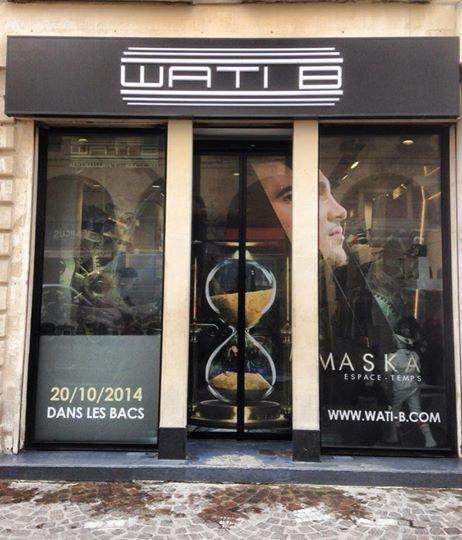 la wati boutique decoré pour l'ep de maska !!