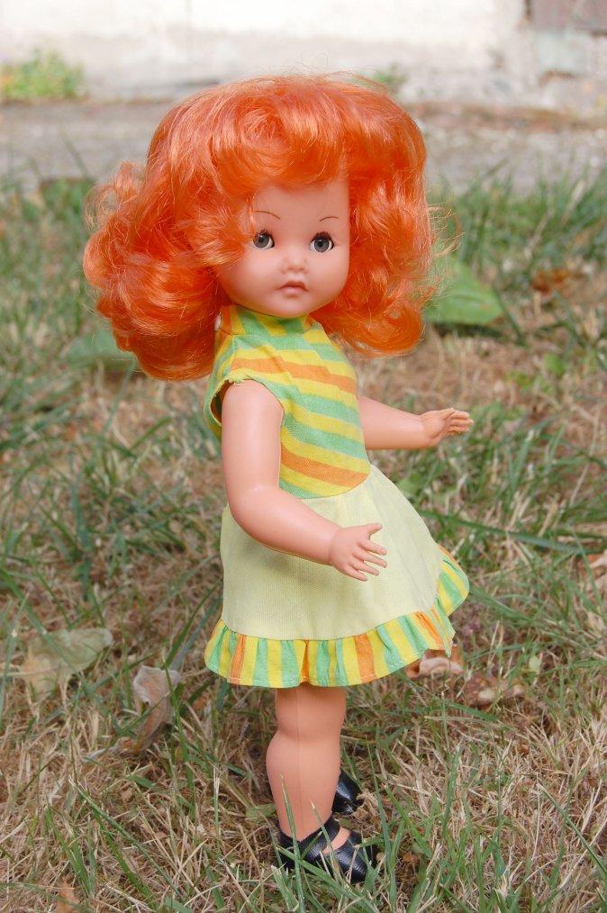 caline de gégé s'est trouvé une superbe robe