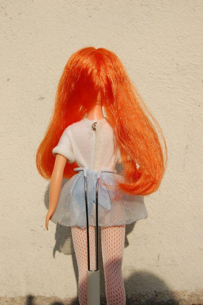 sindy, nouvelle coiffure