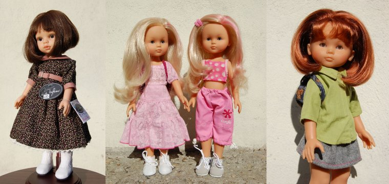 JO des poupées, mon dernier classement.