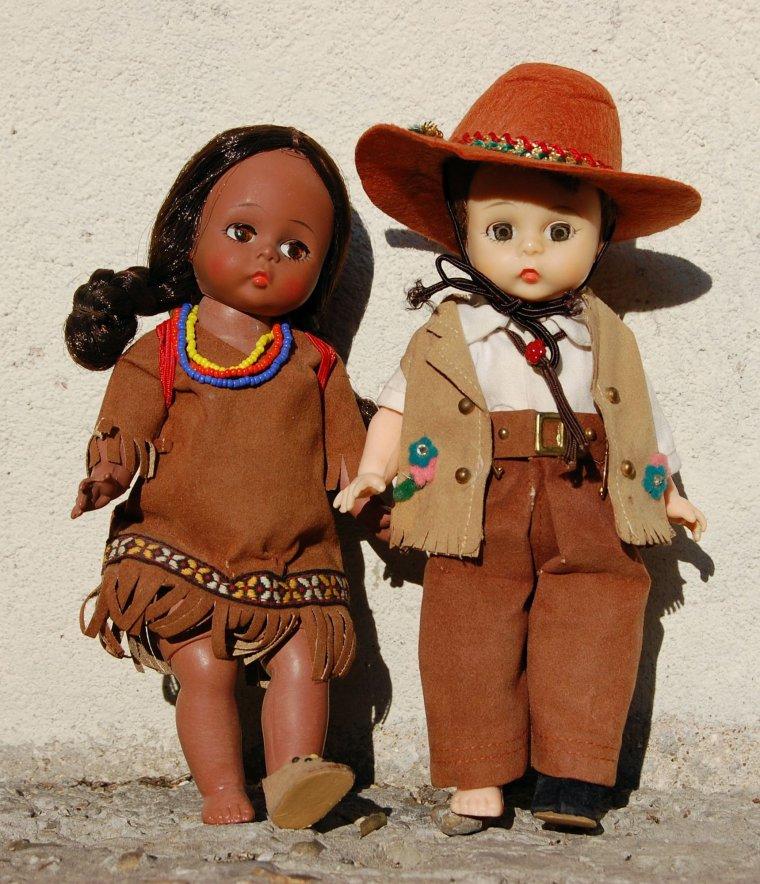 les belles du week-end, partie 1 : le cow-boy et la petite indienne