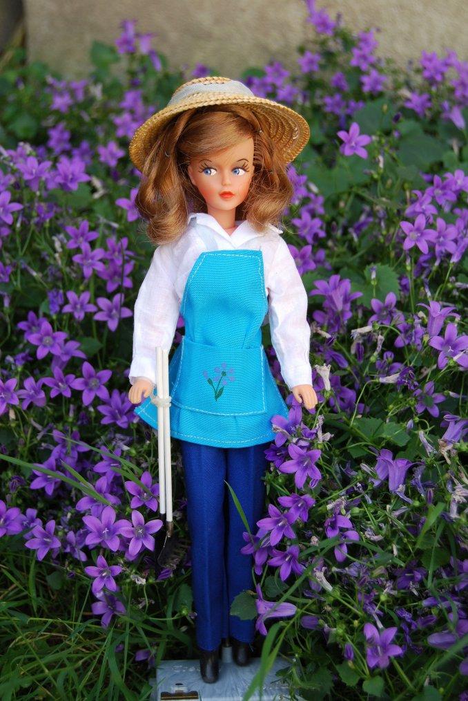 tressy en mode jardinage