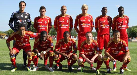 équipe du racing club de lens 2011-2012 :)