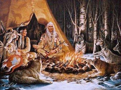 la vie amerindienne