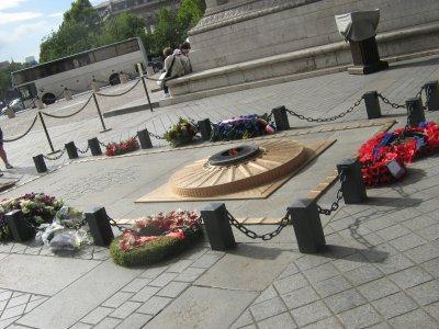 la tombe d un soldat inconnu