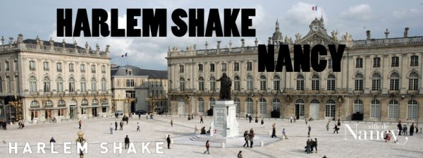 Harlem Shake à Nancy le 20 mars 2013