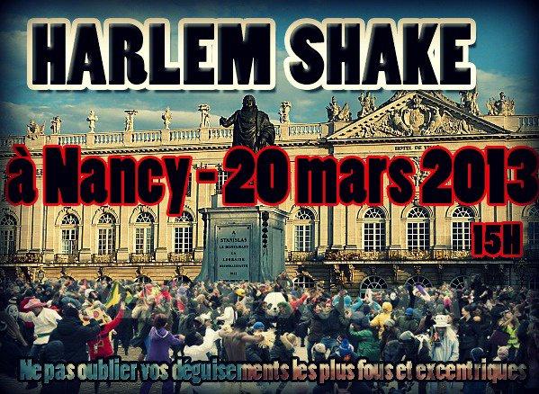 Harlem Shake à Nancy le 20 mars !