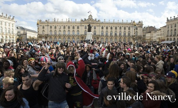 Harlem Shake - Place Stanislas [Photo : Ville de Nancy]