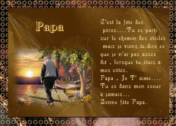 pour toi papa qui nous a qui se 6 juin 2014