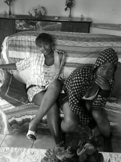 mi and my couz