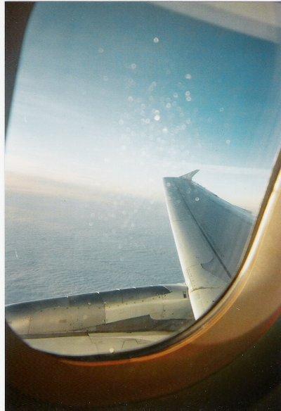 Dans l'avion =D Direction Madrid <3