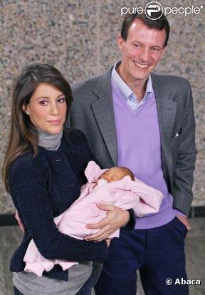 Naissance de la fille du prince Joachim et de la princesse Marie