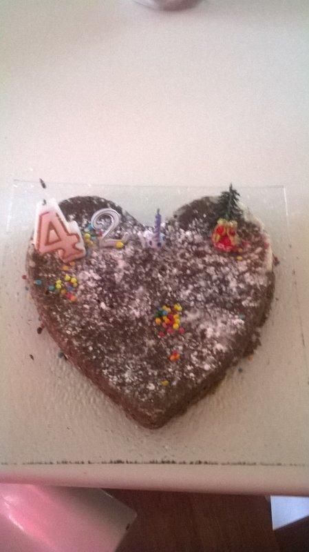 Gâteau Danniversaire De Mon Amour Drageur Sabstenir Suis