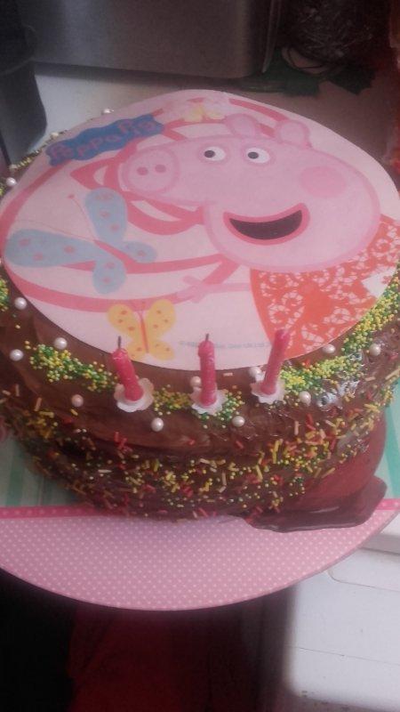 gâteaux d'anniversaire de ma puce pour ces 3 ans