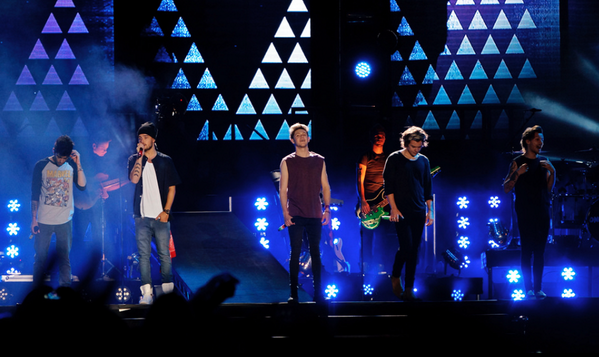 One direction les plus belles photos de leur concert au Chili.