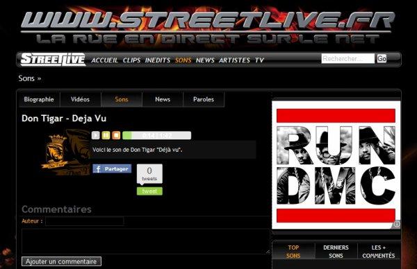 Don Tigar sur STREETLIVE