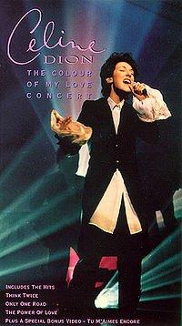The Colour of My Love le troisième album anglophone de Céline Dion sort en 1993...