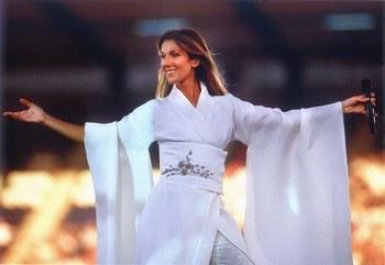 Les 19 et 20 juin 1999, Céline Dion se produit au Stade De France...
