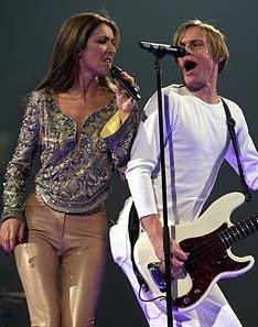 Le concert d'adieu de Céline Dion le 31 décembre 1999 au centre Molson à Montréal