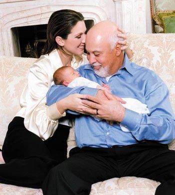 Le 25 janvier 2001, Céline Dion donne naissance à René Charles, son premier enfant...