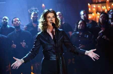 L'année 2001 est calme sur le plan professionnel pour Céline Dion...