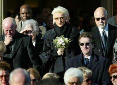Le décès d'Adhémar Dion, le père de Céline Dion, le 30 novembre 2003...